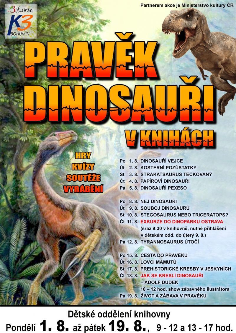Pravek A Dinosauri Prehistoricke Kresby V Jeskynich St 17 8 2016
