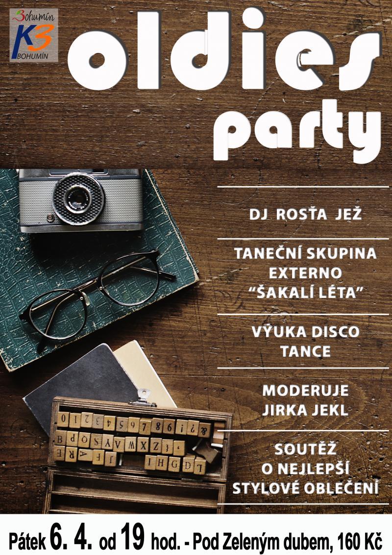 Zobrazit detail akce: Oldies party
