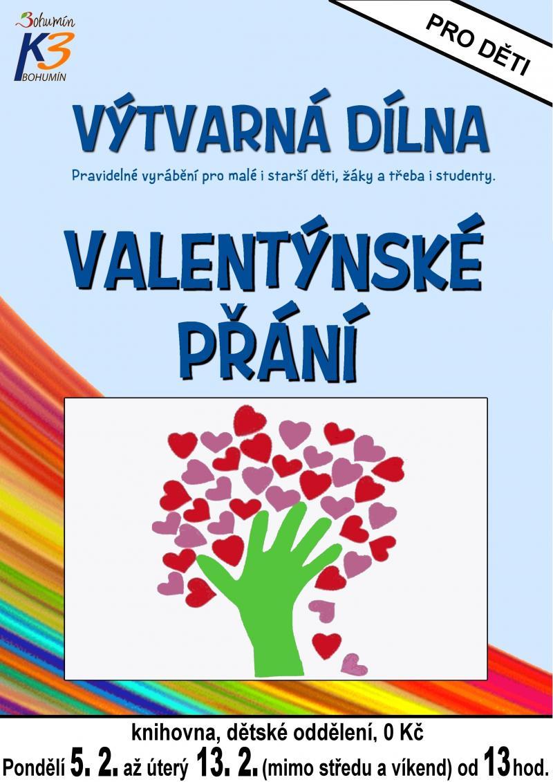 Zobrazit detail akce: Valentýnské přání