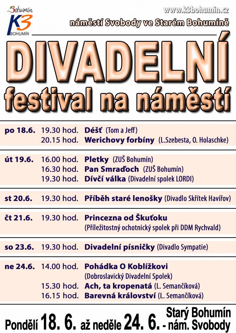 Zobrazit detail akce: Divadelní festival na náměstí