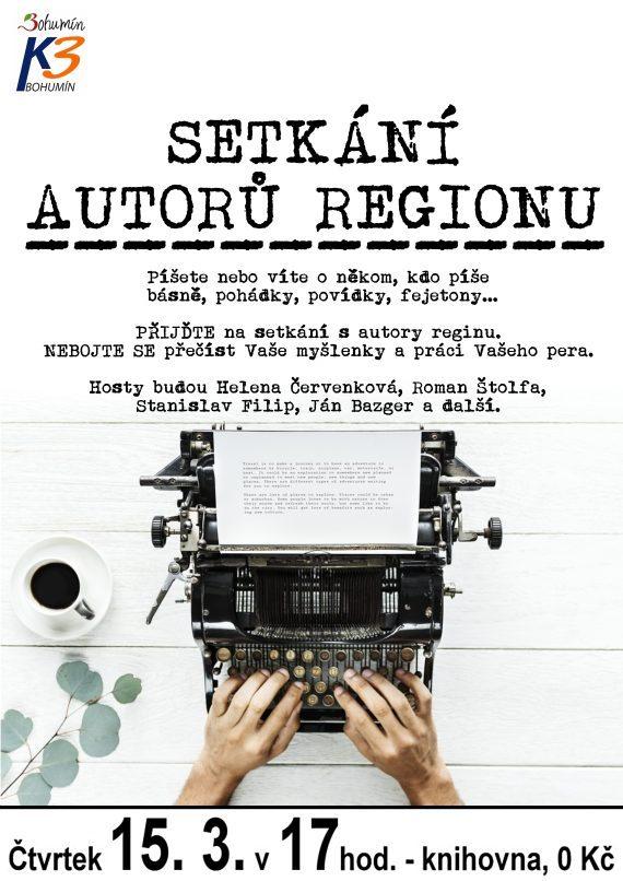 Setkání autorů regionu