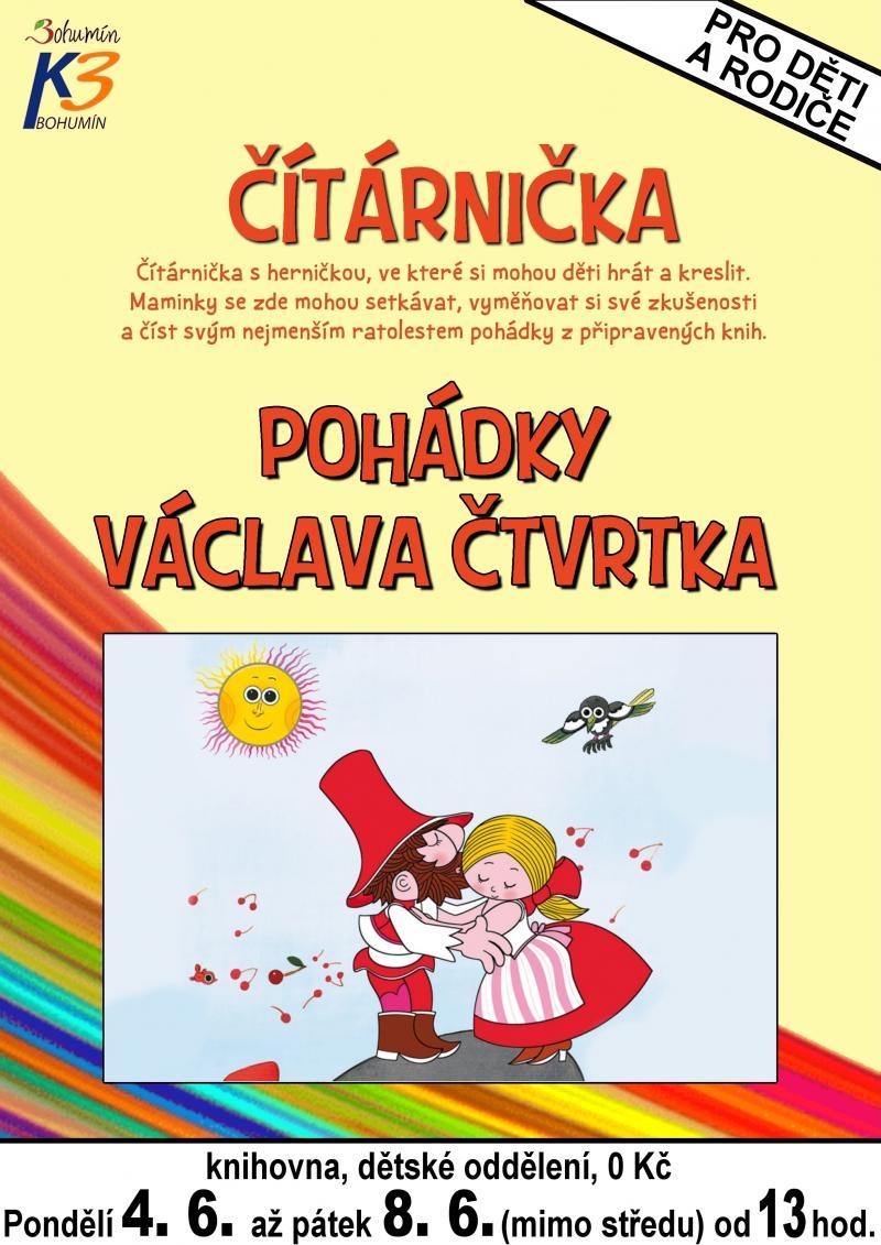 Zobrazit detail akce: Knihy Václava Čtvrtka