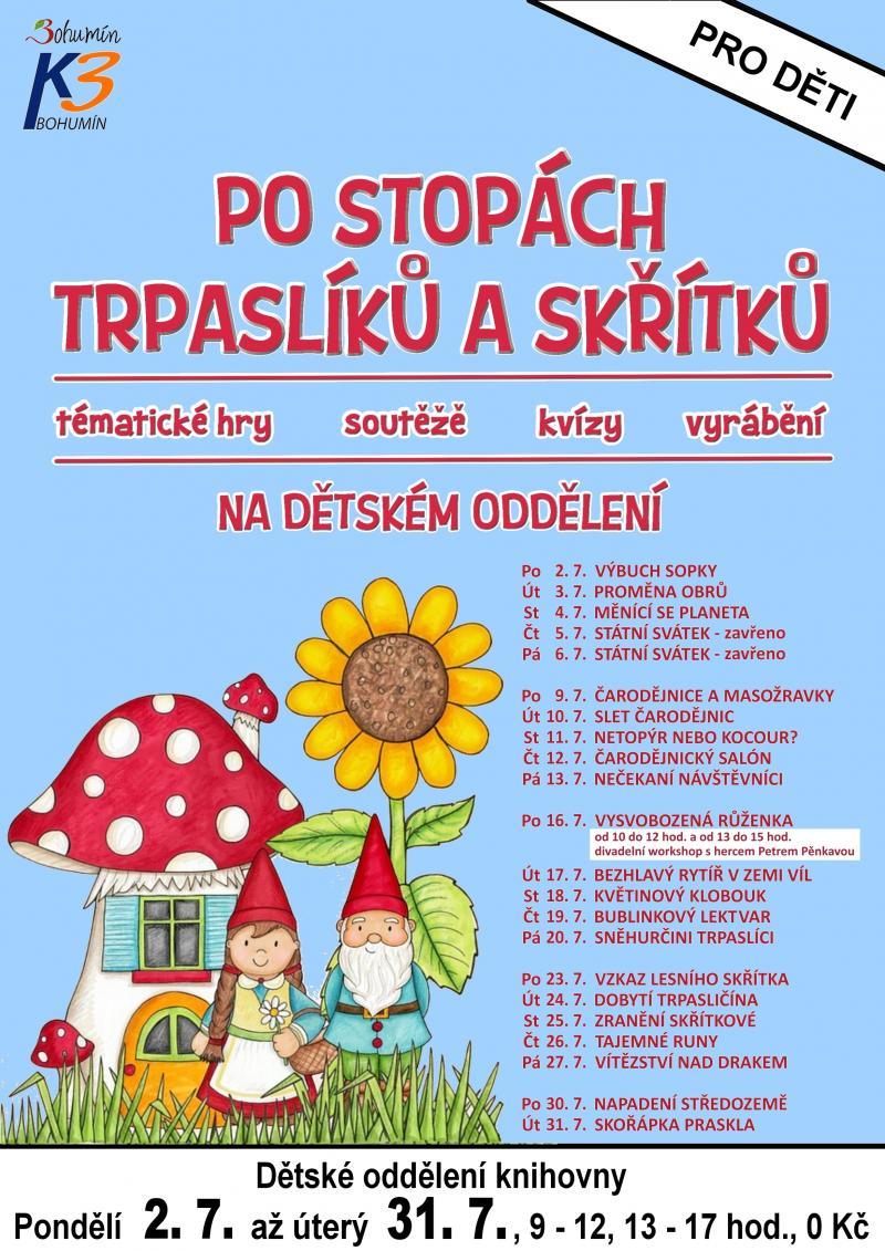 Zobrazit detail akce: Vysvobozená Růženka + divadelní workshop