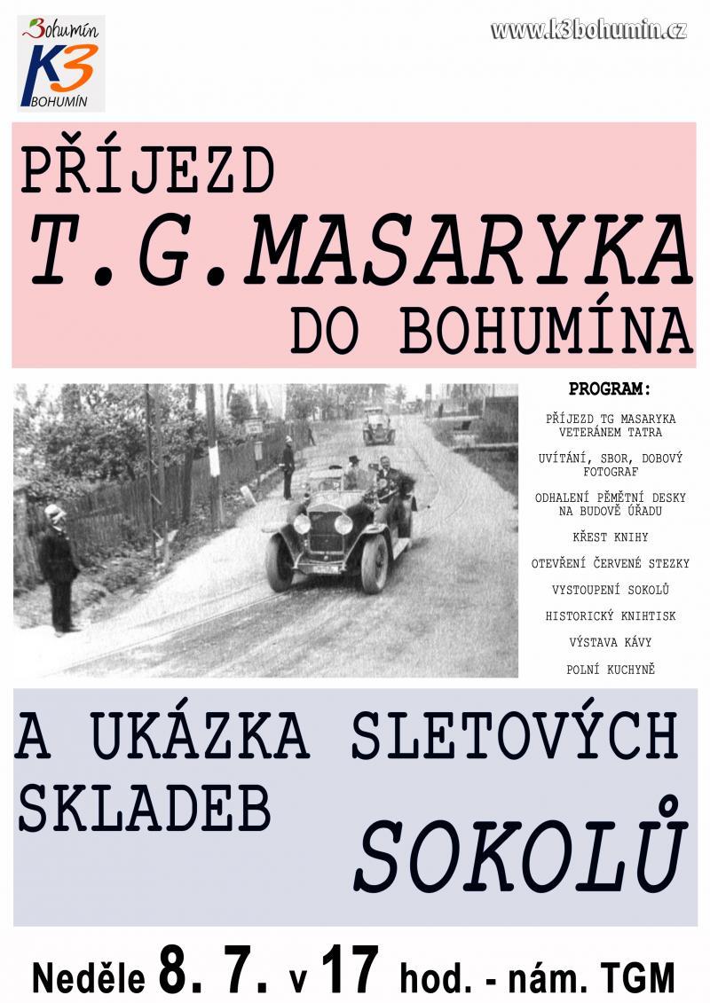 Zobrazit detail akce: Příjezd T. G. Masaryka do Bohumína