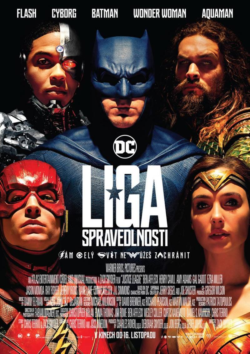 Zobrazit detail akce: Liga spravedlnosti (Letní kino)