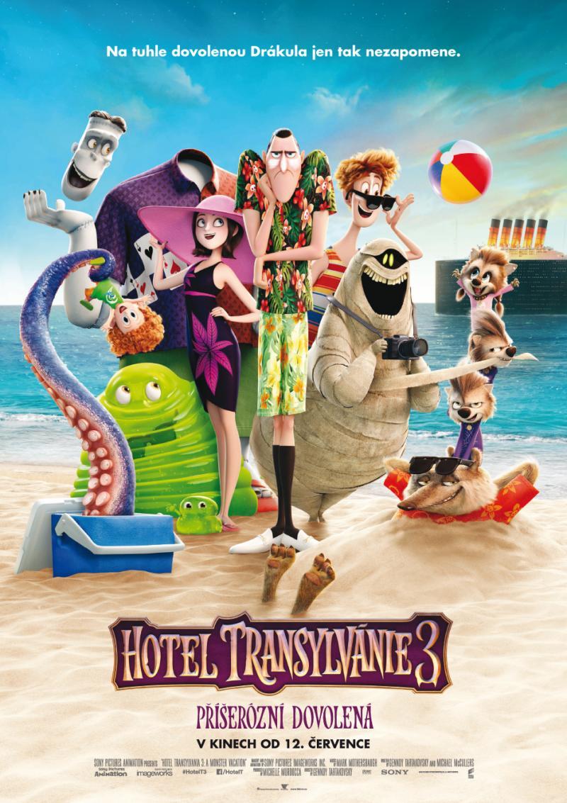 Zobrazit detail akce: Hotel Transylvánie 3: Příšerózní dovolená