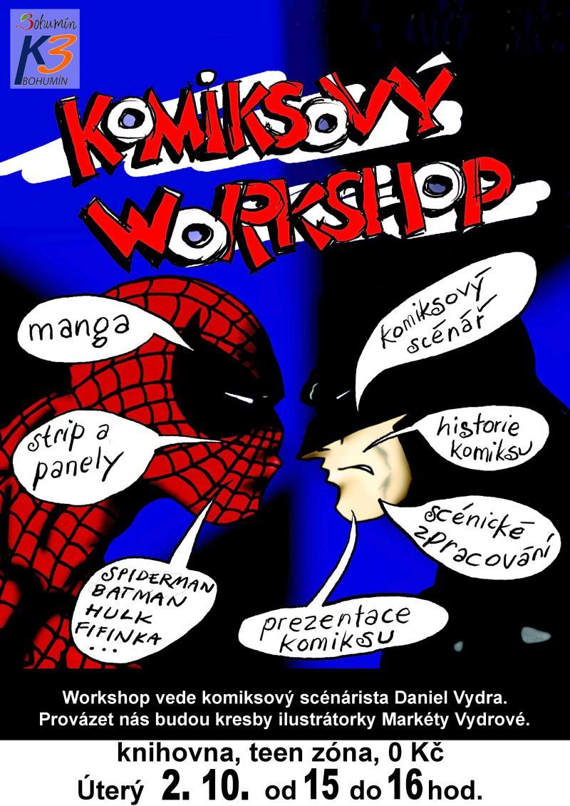 Zobrazit detail akce: Komiksový workshop
