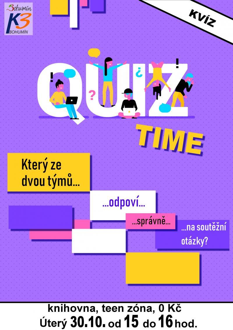 Zobrazit detail akce: Quiz time