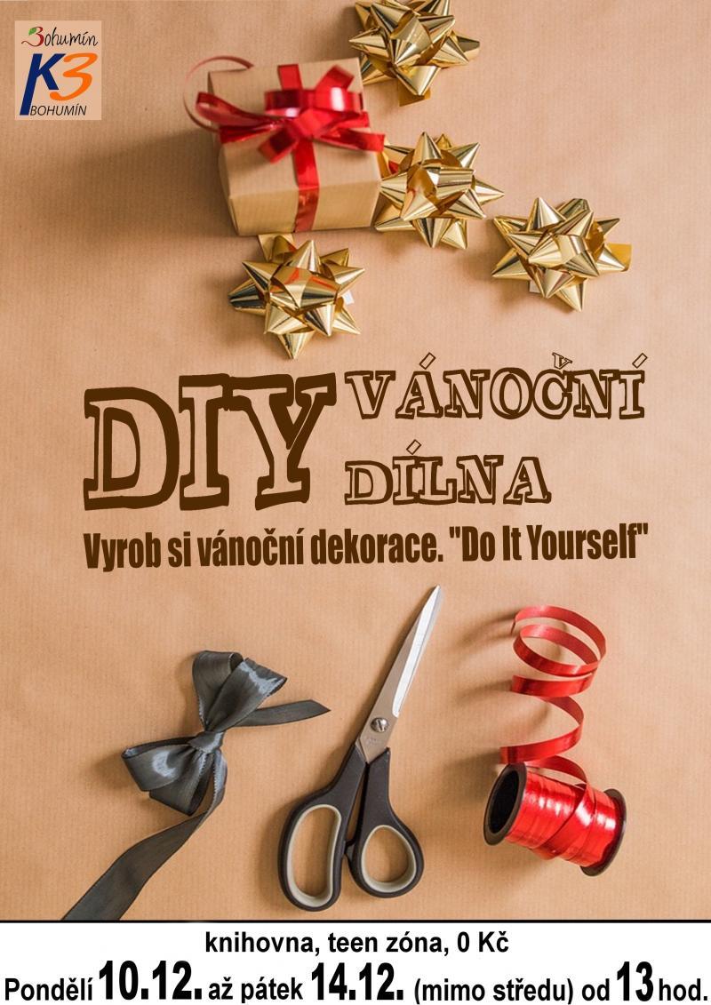Zobrazit detail akce: DIY Vánoční dílna