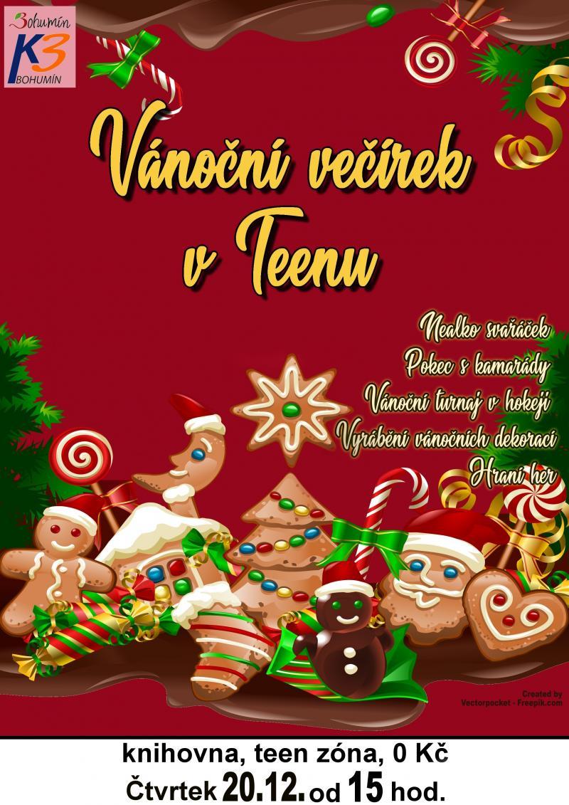 Zobrazit detail akce: Vánoční večírek v Teenu