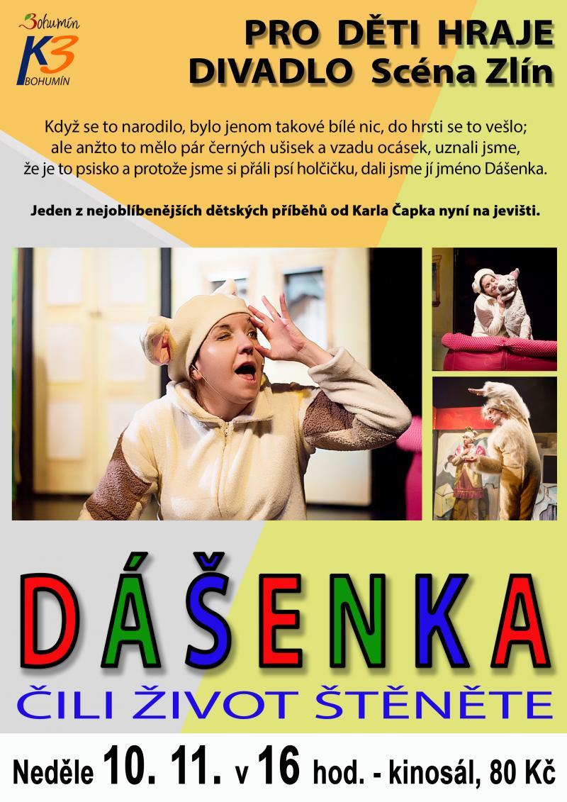 Zobrazit detail akce: Dášenka (divadlo pro děti)