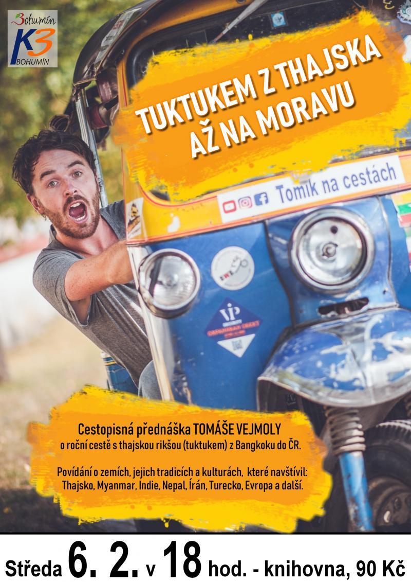 Zobrazit detail akce: Tuktukem z Thajska...