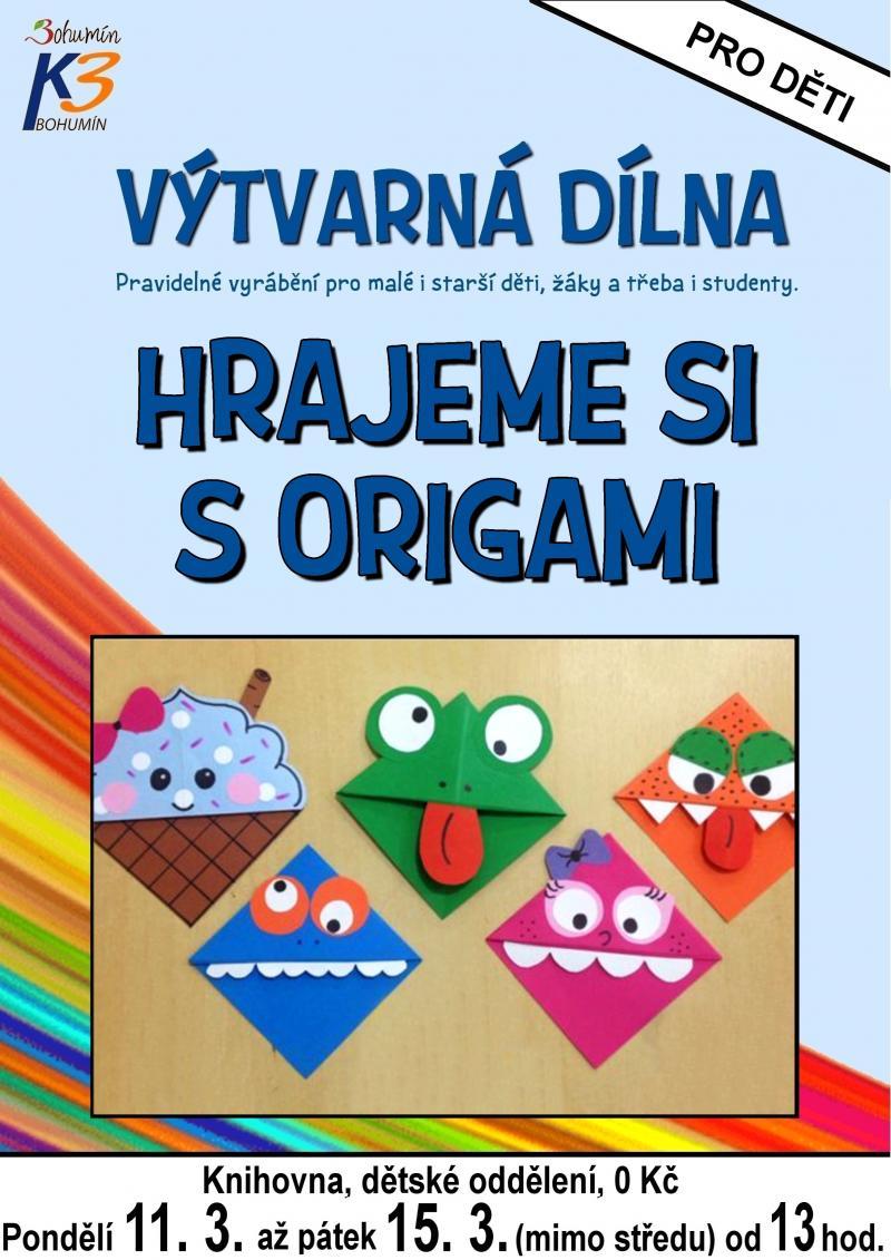 Zobrazit detail akce: Hrajeme si s origami
