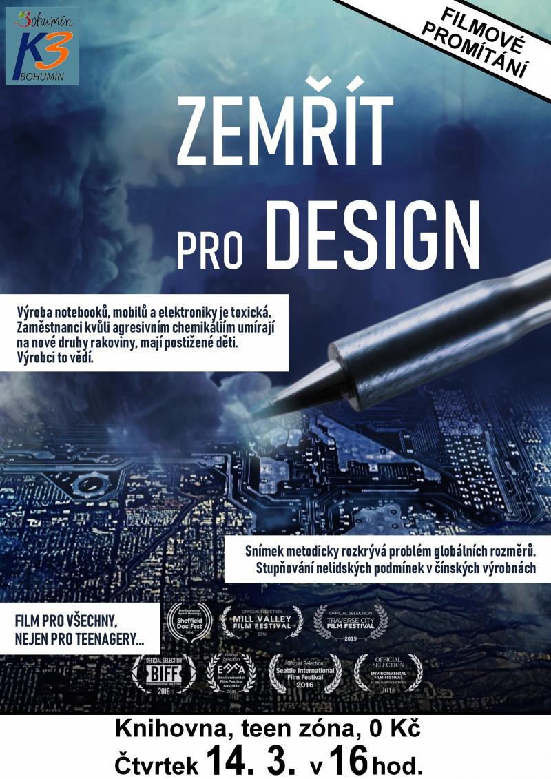 Zobrazit detail akce: Promítání: Zemřít pro design