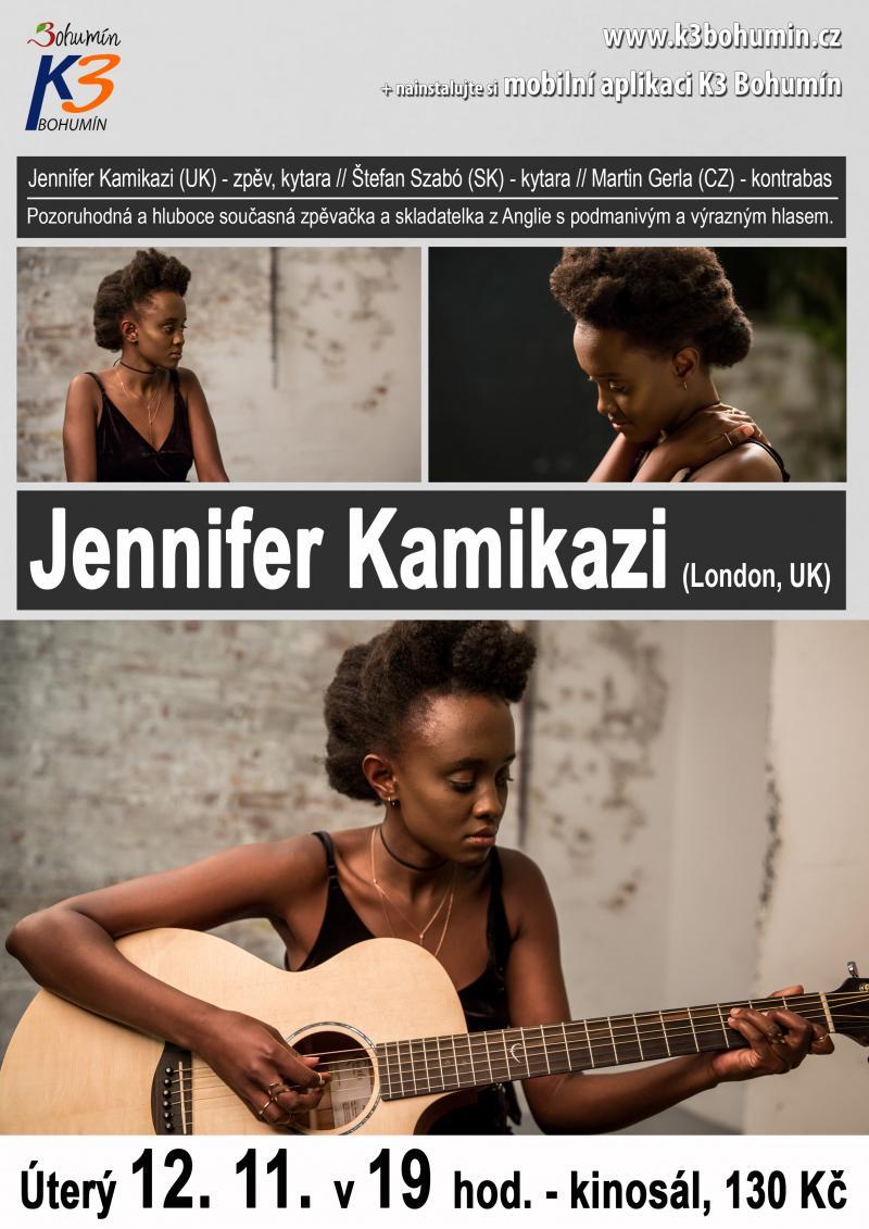 Zobrazit detail akce: Jennifer Kamikazi (UK)