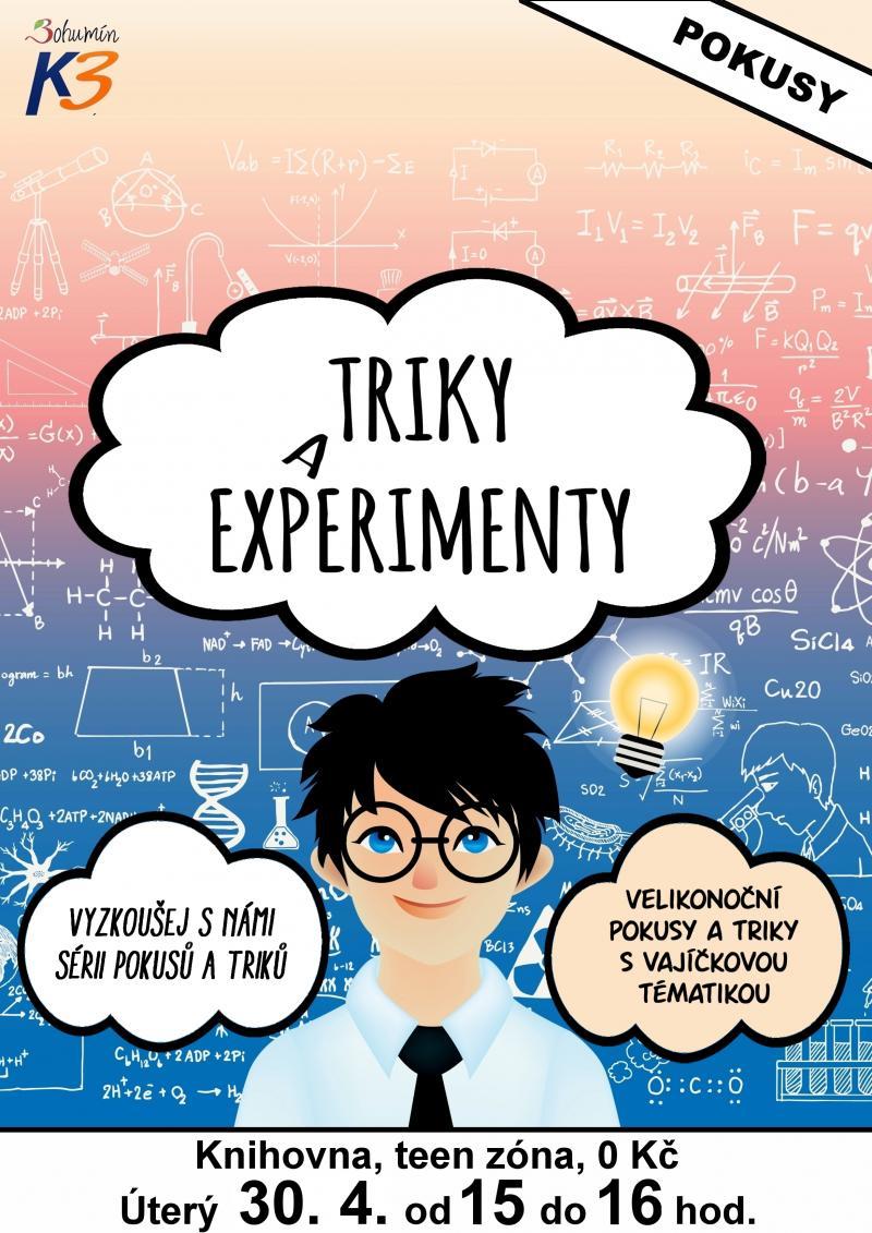 Zobrazit detail akce: Triky a experimenty