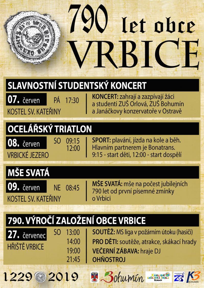 Zobrazit detail akce: 790 let Vrbice