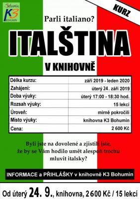 Zobrazit detail akce: Italština pro mírně pokročilé