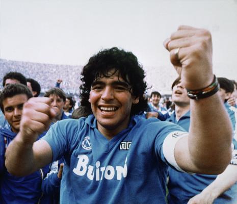 Zobrazit detail akce: Diego Maradona