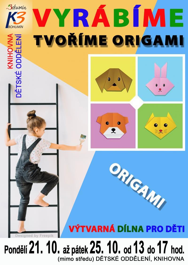 Zobrazit detail akce: Tvoříme origami