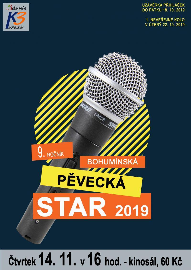 Zobrazit detail akce: Bohumínská pěvecká STAR 2019