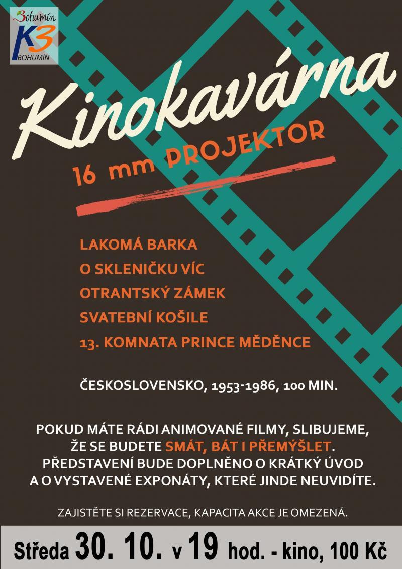 Zobrazit detail akce: Retro kinokavárna: Perly české animace