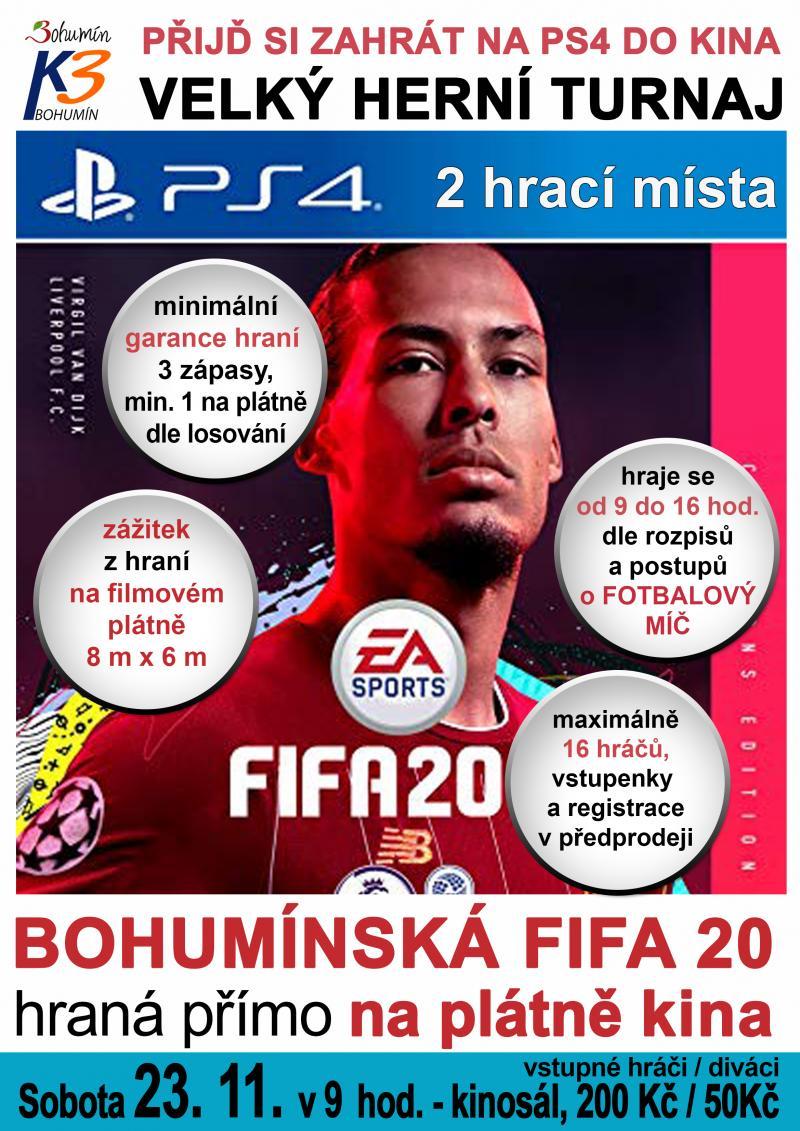 Zobrazit detail akce: Turnaj - FIFA 20