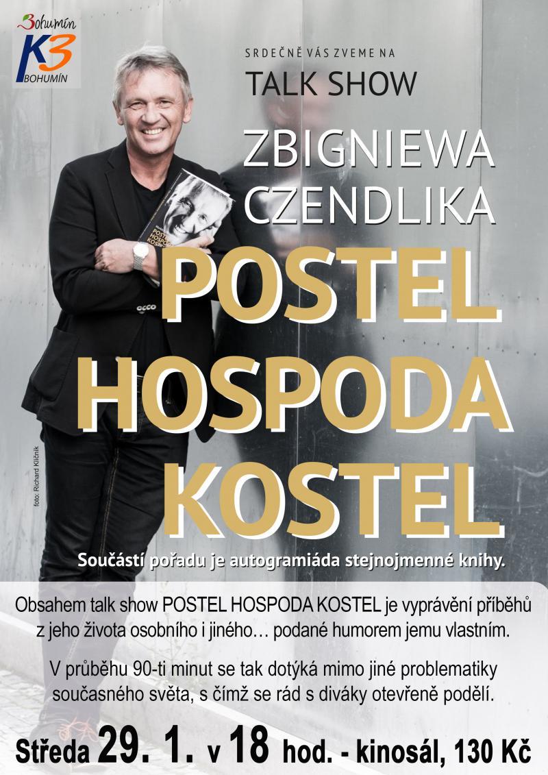 Zobrazit detail akce: Talk show Zbigniewa Czendlika VYPRODÁNO
