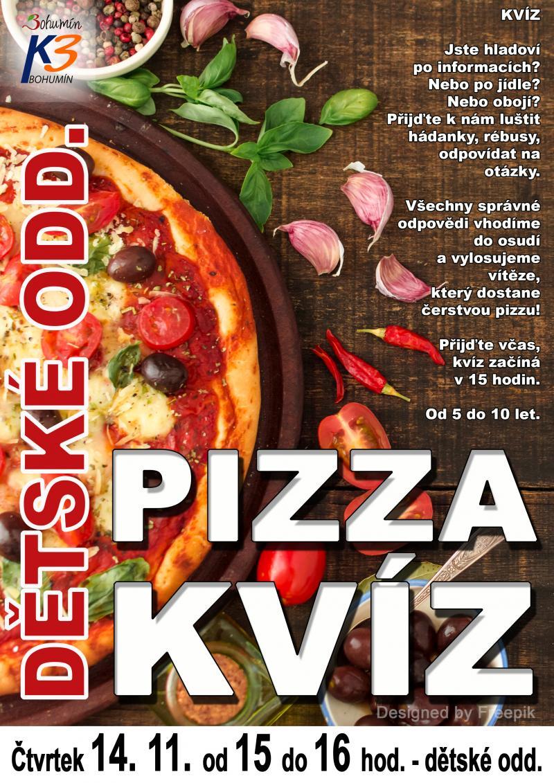 Zobrazit detail akce: Pizza kvíz na dětském oddělení