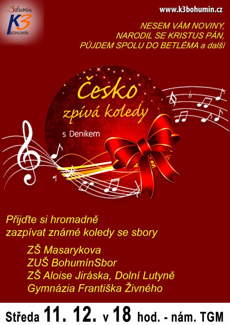 Zobrazit detail akce: Česko zpívá koledy