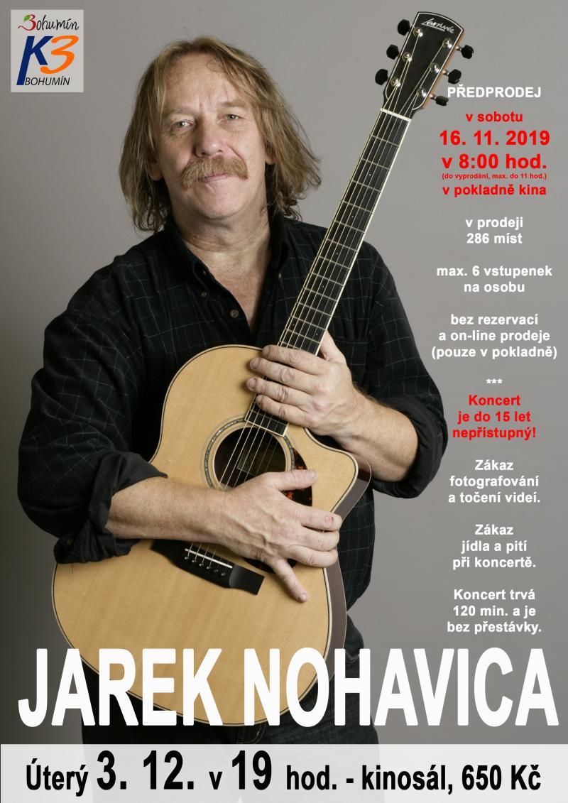 Zobrazit detail akce: Recitál Jarka Nohavici