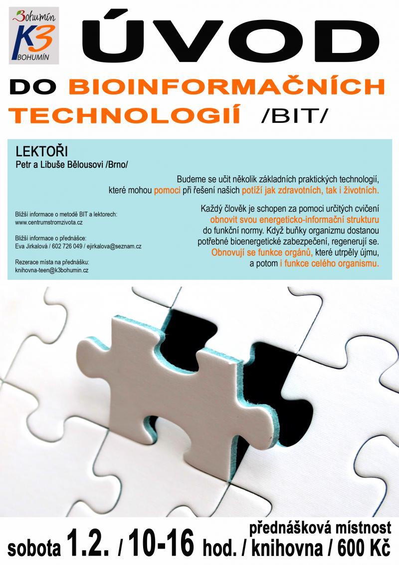 Zobrazit detail akce: Úvod do bioinformačních technologií