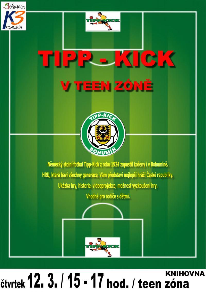 Zobrazit detail akce: Tipp - kick v teen zóně  - ZRUŠENO