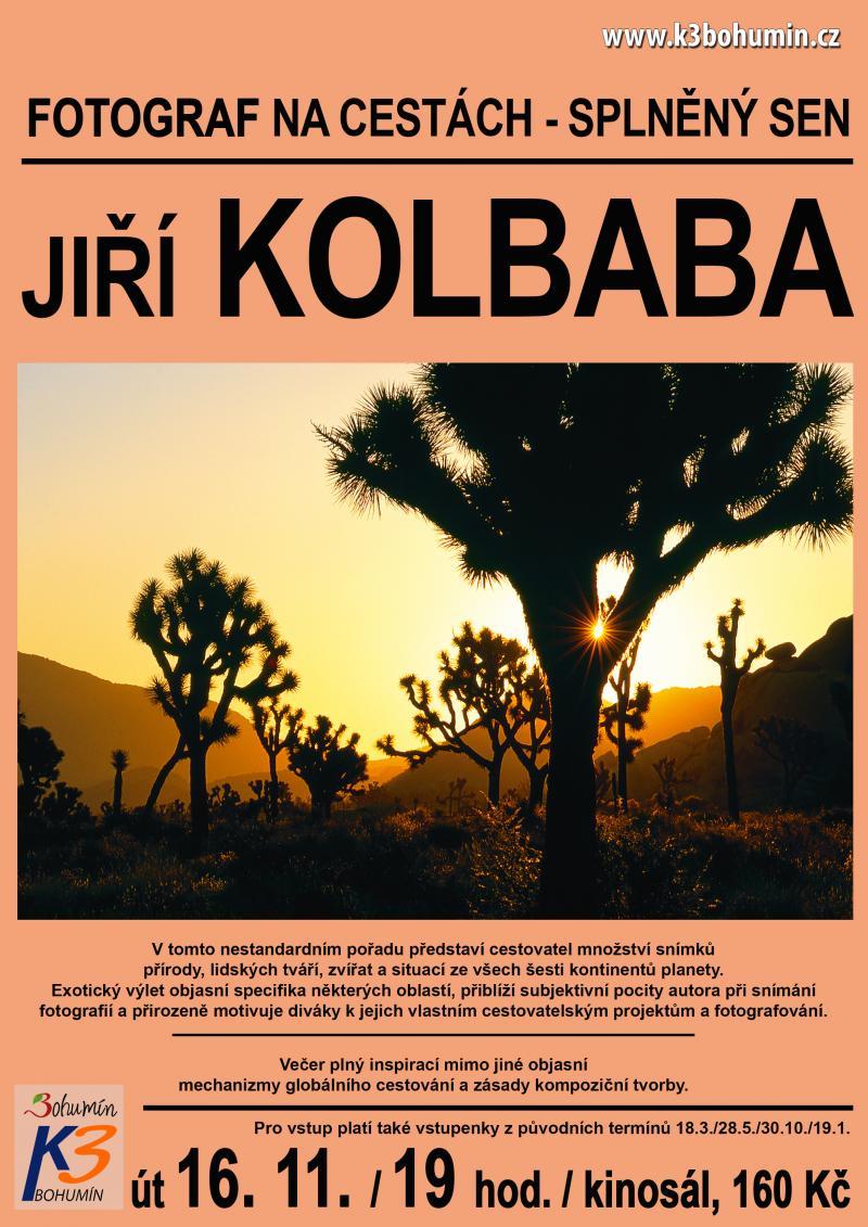 Zobrazit detail akce: Jiří Kolbaba