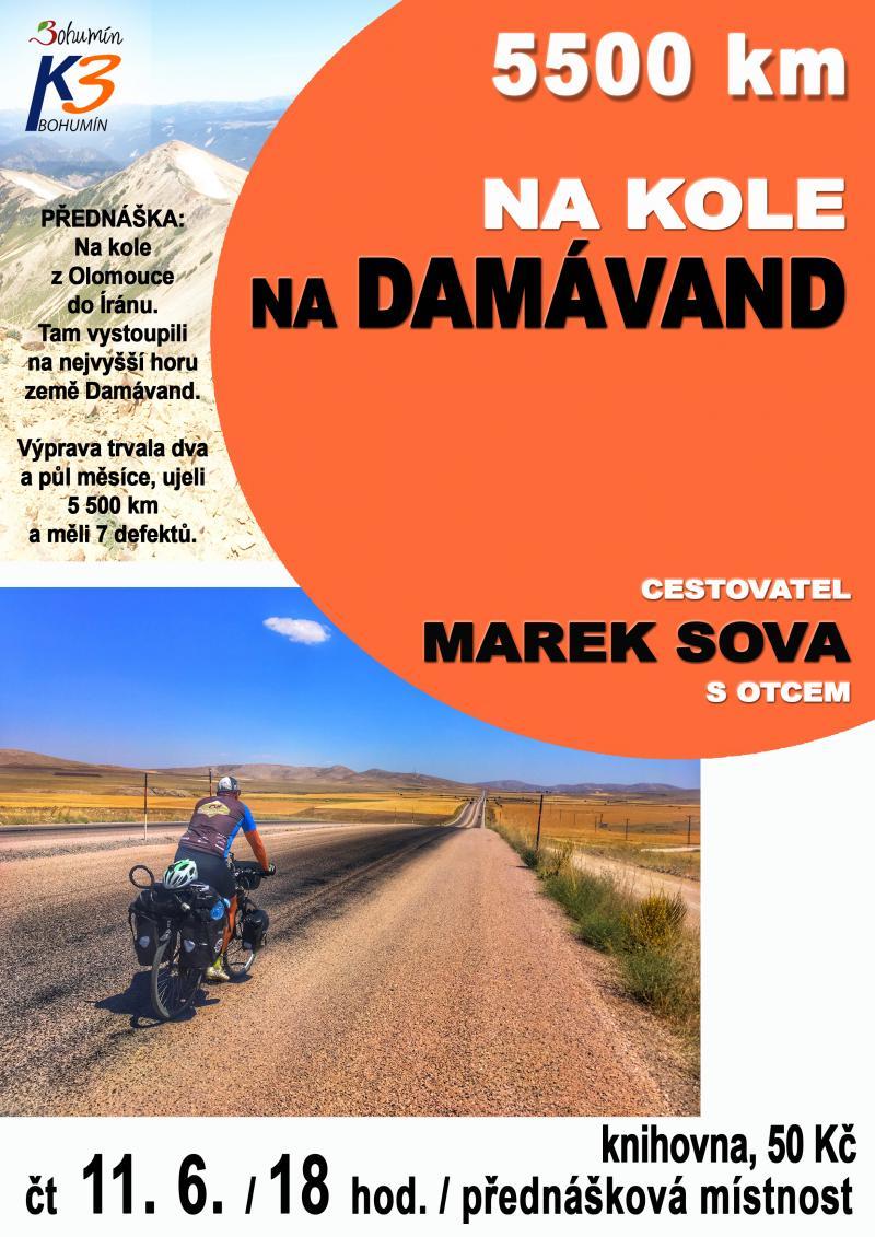 Zobrazit detail akce: 5500 km na kole na Damávand