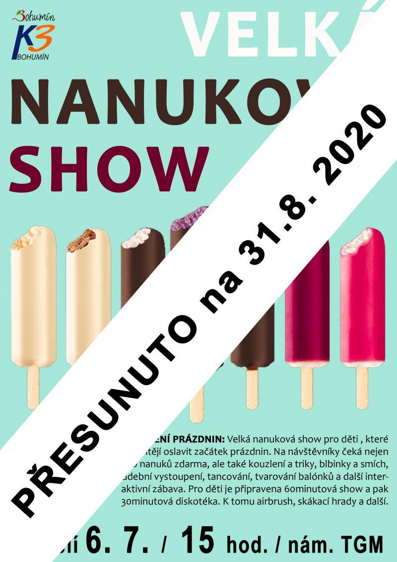 Zobrazit detail akce: Nanuková show - přesunuto na 31.8.2020
