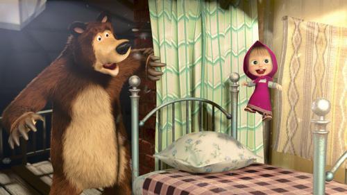 Zobrazit detail akce: Máša a medvěd: Mášiny písničky