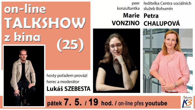 Zobrazit detail akce: on-line TALK SHOW z kina