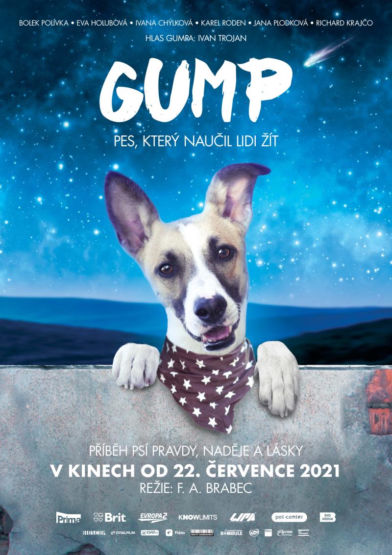 Zobrazit detail akce: Gump - pes, který naučil lidi žít KINOHIT!