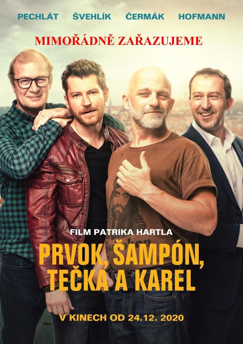 Zobrazit detail akce: Prvok, Šampón, Tečka, Karel