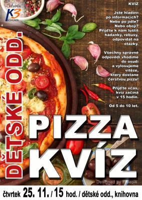 Zobrazit detail akce: Pizza kvíz na dětském
