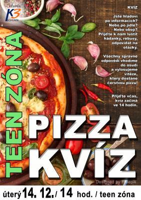 Zobrazit detail akce: Pizza kvíz v teen zóně